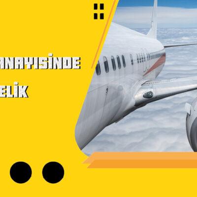 Uçak Sanayisinde Derin Delik Delme